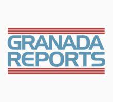 Granada Reports logo 1985-ish T-Shirt