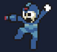 Mega Man Sprite by Hunter-Blaze