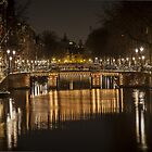 Bridges of Amsterdam by Shari Mattox
