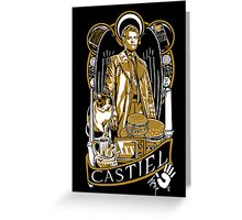 Castiel Nouveau Greeting Card