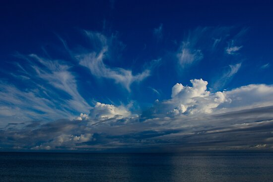 Storm clouds over Geographe bay by Adrian Kent