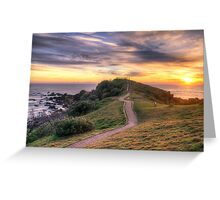 The Sunrise Path at Little Watego's Greeting Card