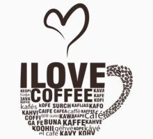 I Love Coffee by Ryan Jay Cruz