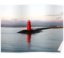 Dublin Harbour Lighthouse Poster