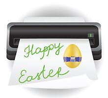 easter greeting card  by valeo5