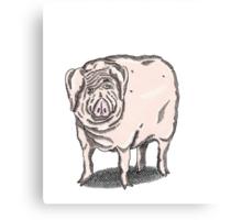 Pig 1 Canvas Print