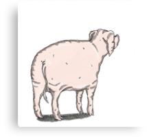 Pig 2 Canvas Print