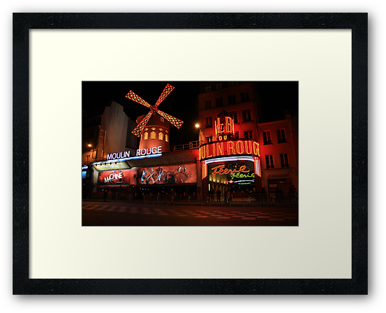 The Moulin Rouge by danielasynner