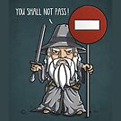 you shall not pass by mascheratore