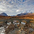 Bla Bheinn and the Black Cuillin from the Old Sligachan Bridge by Martin Lawrence