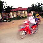 Motos in Cambodia by jevep