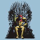 Samus Iron Throne by uncmfrtbleyeti