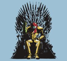 Samus Iron Throne by uncmfrtbleyeti