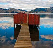 Hooper's Inlet, Otago Peninsular by Kevin Hellon