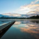 Lake Okareka, North Island, New Zealand by Kevin Hellon