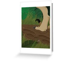 Jurassic Park Greeting Card