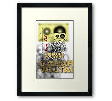 club dada - cabaret voltaire [tape spaghetti] Framed Print
