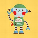 Little Robot by HappyDoodleLand