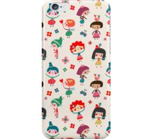 Happy Girls iPhone Case/Skin