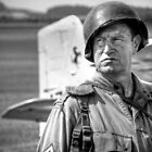 US Marine at Duxford, Cambridgeshire by Matt Eagles