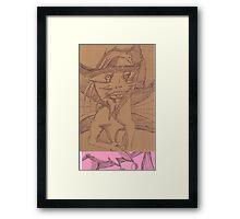 perceive Framed Print
