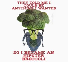 Hipster Broccoli by timscrivello