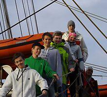 Statsraad Lehmkuhl students  by Craig  Meheut