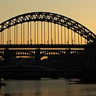 A beautiful sky over the Bridges by Lorna Taylor