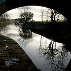 canal bridge by paul edmondson
