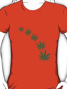 Weed Graffiti Style T-Shirt