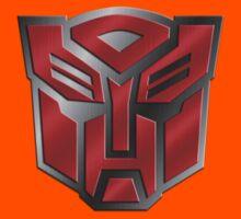 Autobot Symbol - Brushed Metal 3.0 Kids Clothes