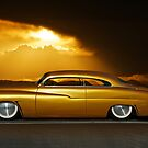 1950 Mercury Custom 24k Gold by DaveKoontz