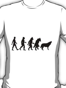 Wolf TF line (male) T-Shirt