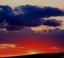 April Sunset Winnemucca 2013 by DonActon