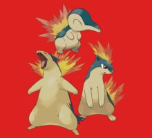 Cyndaquil EVOs by Stephen Dwyer