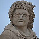 Harry Potter Sand Sculpture by Prettyinpinks