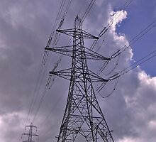 Electric Power Pylon by philipclarke