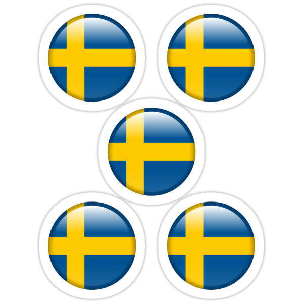 Sweden ×5 by csyz ★ $1.49 stickers