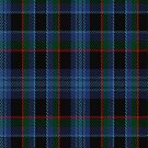 02180 Bayberry Blue, (Unidentified #2) Tartan Fabric Print Iphone Case by Detnecs2013