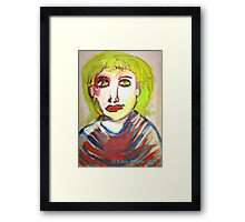 Jealousy Made Your Hair Turn Green Framed Print
