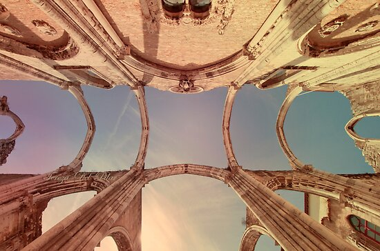 convento do carmo sky by terezadelpilar~ art & architecture