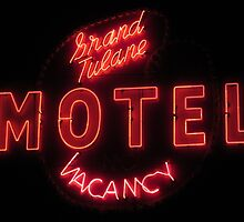 Grand Tulane Motel by Guy Ricketts