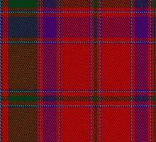 02192 Edinburgh Ancient Red, (Unidentified #14) Tartan Fabric Print Iphone Case by Detnecs2013