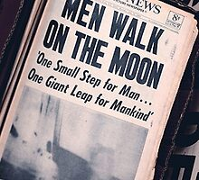 Man walks on moon by shoshgoodman