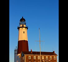 Montauk Point Light - Mountauk, New York by © Sophie W. Smith