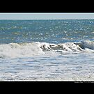 Atlantic Ocean Wave - Hampton Bays, New York by  Sophie Smith
