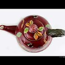 Vintage Ceramic Teapot by © Sophie W. Smith