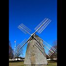 Old Windmill - Water Mill, New York  by © Sophie Smith
