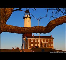 Historic Montauk Point Lighthouse - Montauk, New York by © Sophie W. Smith