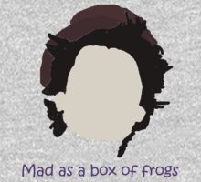 You're mad as a box of frogs! by tatu
